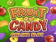 Играйте в онлайн слот Фрукты Или Конфета на сайте казино Вулкан